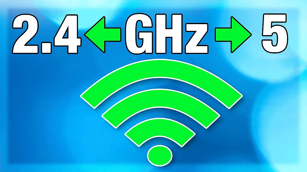 Software defined networks change 2.4ghz to 5 ghz