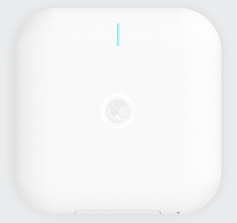 Top view of Cambium XV3-8 WiFi 6 Access Point