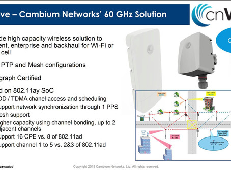 Cambium Motorola brings to you multi-gigabit Broadband.