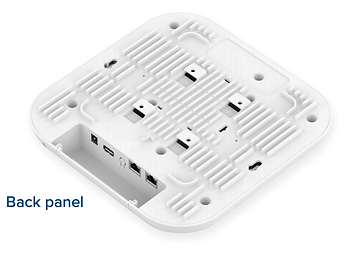 Back panel Wifi 6 access point