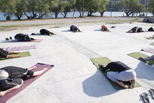 yoga in Leros