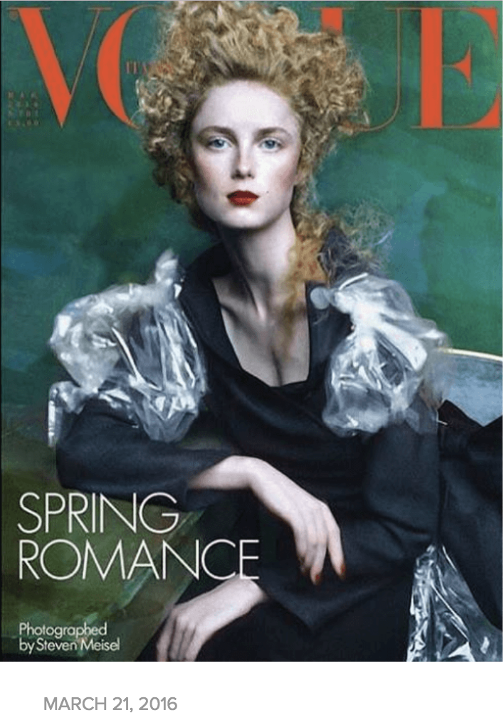 VOGUE ITALIA – FASHION FOR HOPE