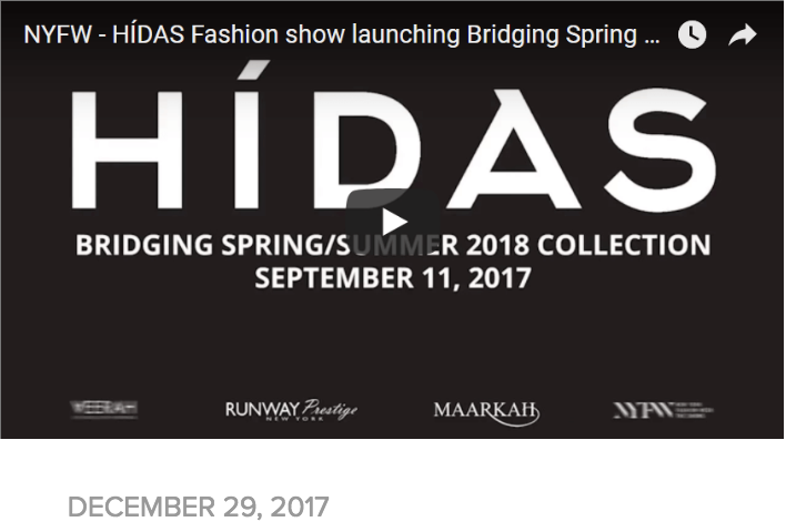 NYFW – HÍDAS FASHION SHOW LAUNCHING