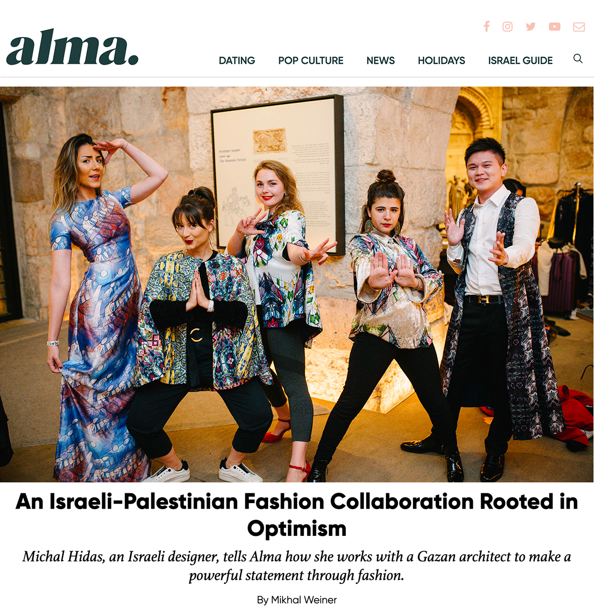 HIDAS at Alma online magazine