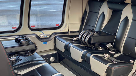 We have everything ythe VIP traveller could need