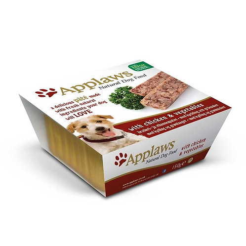 Applaws Dog Pate Chicken With Vegetables 7x150g