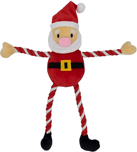 GoodBoy Christmas Toys for Dogs - Hug Tug Santa 40cm