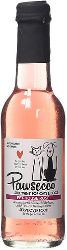 Woof & Brew Pawsecco Pet-House Rose Wine, 250 ml