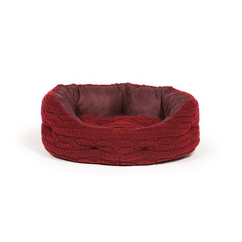 Danish Design Bobble Damson Deluxe Slumber Dog Bed