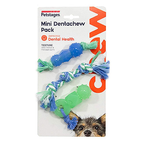 Petstages Mini Dentachew Pack Puppy & Small Dog Toys