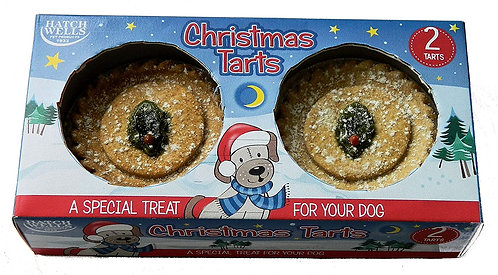 Hatchwells Xmas Tarts For Dogs