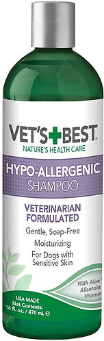 Vets Best Hypo -Allergenic Itch Relief Shampoo 470ml