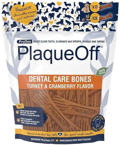 ProDen PlaqueOff Dental Care Bones Turkey & Cranberry 482g
