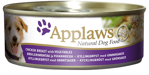 Applaws Dog Food Chicken Breast & Veg 12x156g