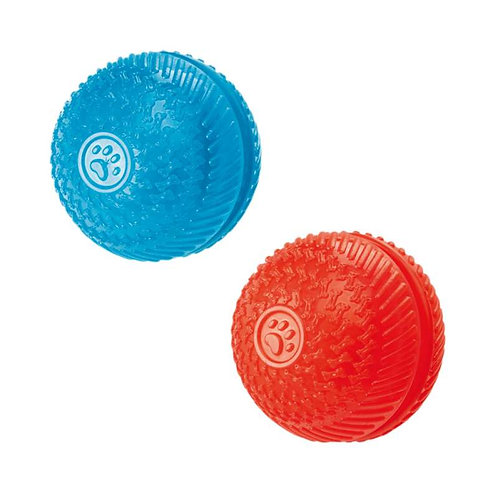 Gor Pets Flex Squeak & Treat Ball Toy