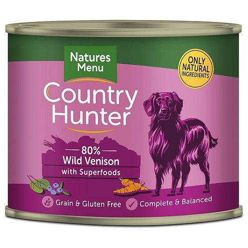 Natures Menu Country Hunter Venison & Blueberry 600g