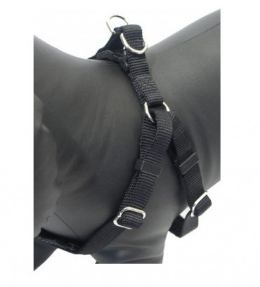 Rosewood Classic Soft Protection Harness - Black