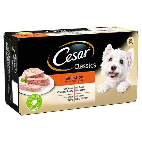 Cesar Classics Terrine Mixed Selection 4x150g