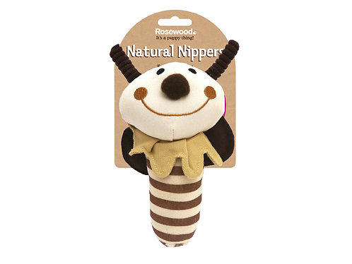 Rosewood Natural Nippers Shake & Rattle Toy