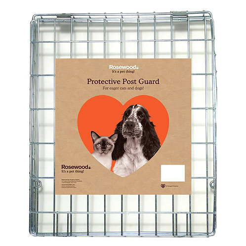 Rosewood Protective Post Guard