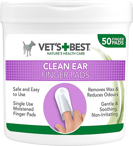 Vet's Best Ear Cleaning Pads for Dogs