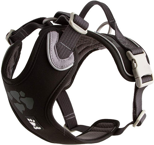 Hurtta Weekend Warrior Harness Raven 45-60cm
