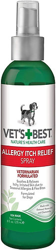Vets Best Allergy Itch Relief Spray 235ml