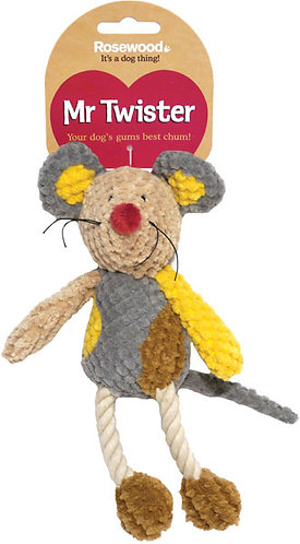 Rosewood Mister Twister Molly Mouse Toy