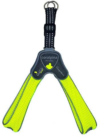 Coralpina Harness Cinquetorri Neon Yellow M