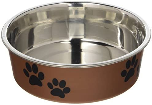 Loving Pets Bella Bowls Small-Copper