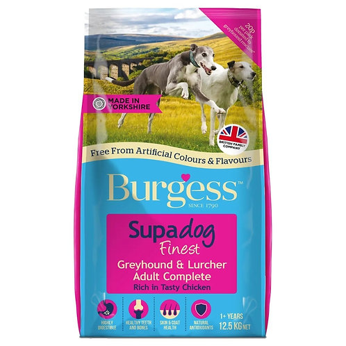 Burgess Greyhound and Lurcher Chicken 12.5kg