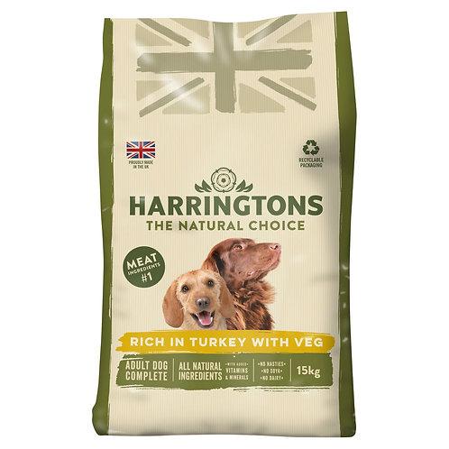 Harringtons Turkey and Veg Adult 15kg