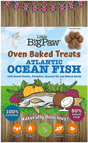 Little Big Paw Oven Baked Atlantic Ocean Fish 130g