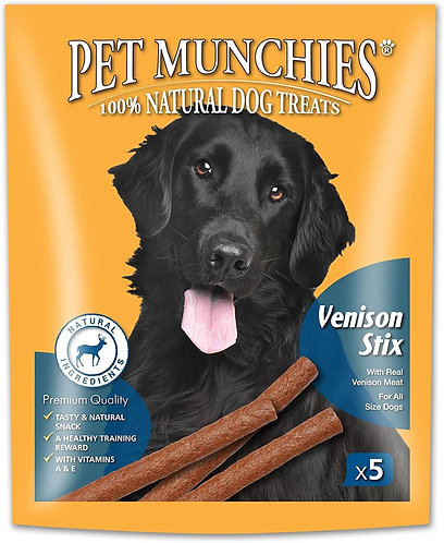 Pet Munchies Venison Stix 50g
