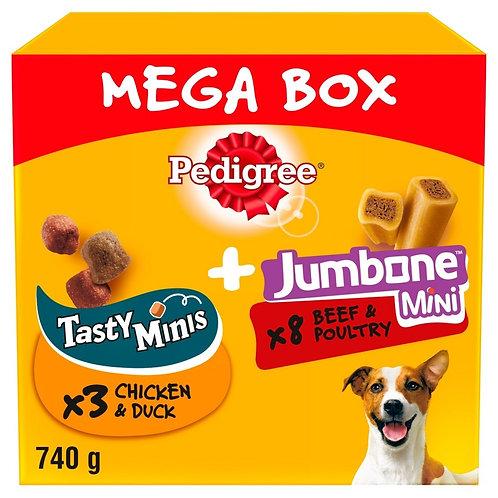 Pedigree Tasty Minis & Jumbone Mega Box
