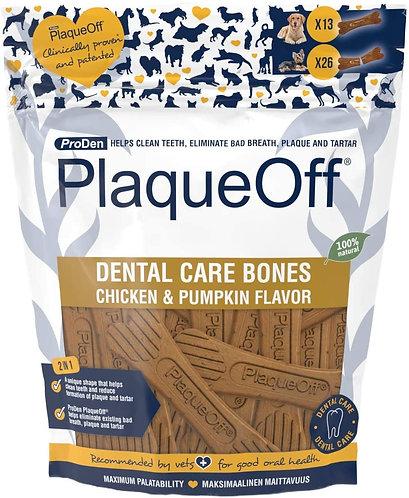 ProDen PlaqueOff Dental Care Bones Chicken & Pumpkin 482g