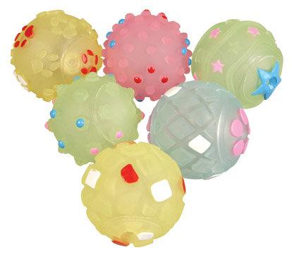 Rosewood Jolly Doggy Puppy Pastel Balls 6pk