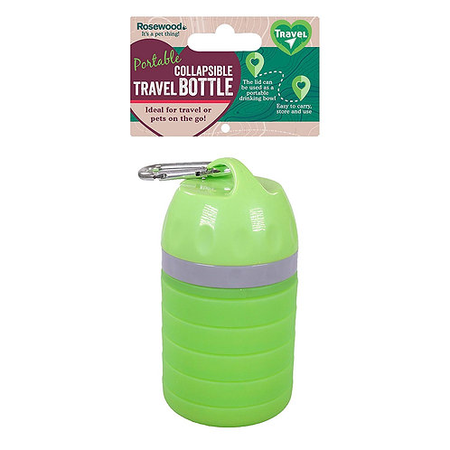 Rosewood Collapsible Outdoor Dog Travel Water Bottle