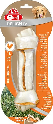 8 In 1 Delights Chicken Bone Large