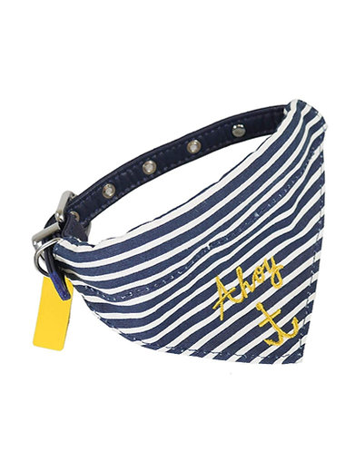 Joules Nautical Neckerchief & Collar - Medium