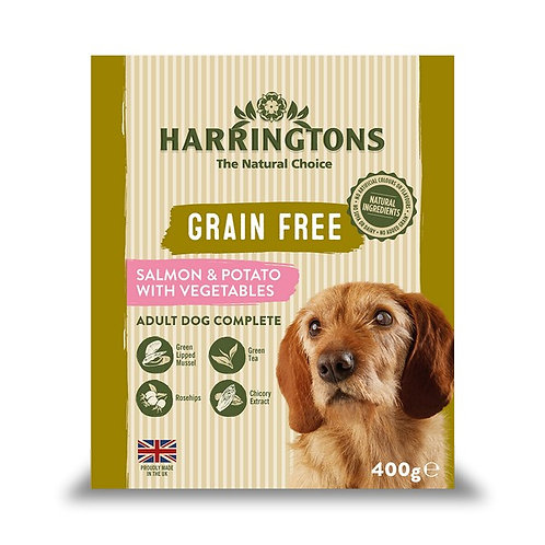 Harringtons Complete Wet Salmon & Potato 400g