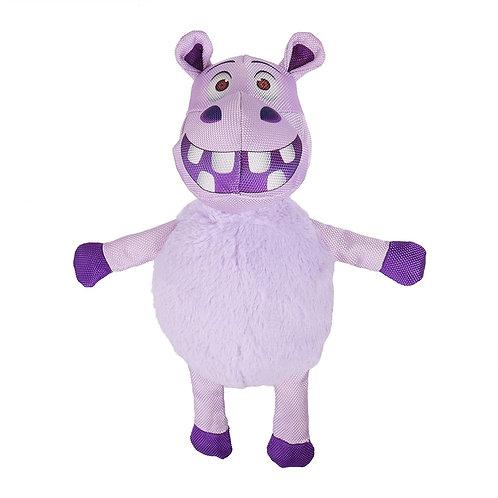 Rosewood Safari Tough Hippo Dog Toy
