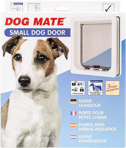 Pet Mate Small Dog Door - White