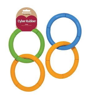 Rosewood Cyber Rubber Invincible Chain Rings