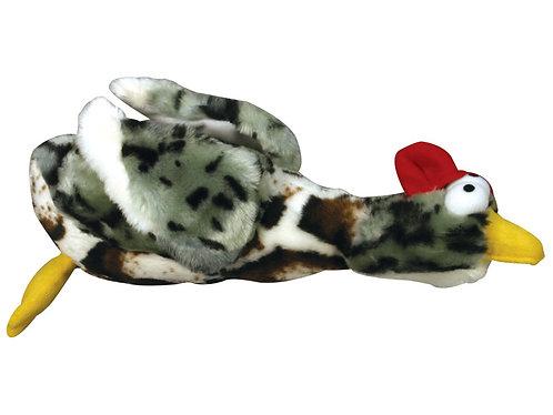 Rosewood Chubleez Quackers Grey Toy