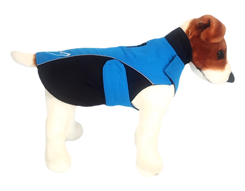"Gor Pets Wrapid Jacket 16"" Blue"
