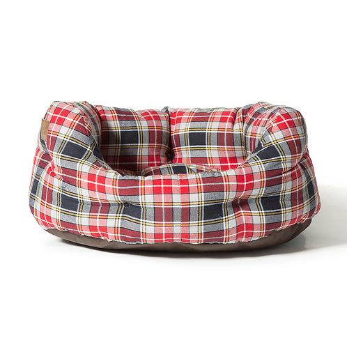 Danish Design Lumberjack Deluxe Slumber Bed - Red/Grey