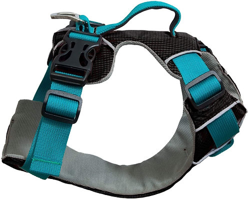 Sotnos Dog Travel Safety & Walking Harness Teal Medium