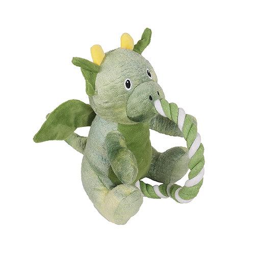 Rosewood Green Rope Dragon