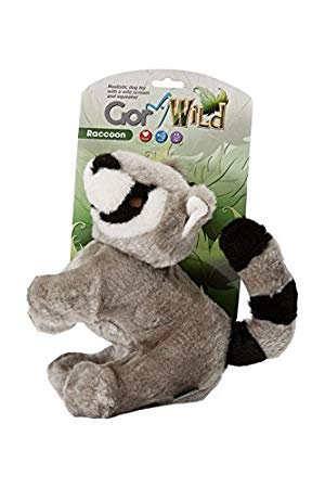 Gor Pets Wild Raccoon Toy